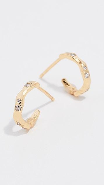 Gorjana Collette Mini Hoop Earrings
