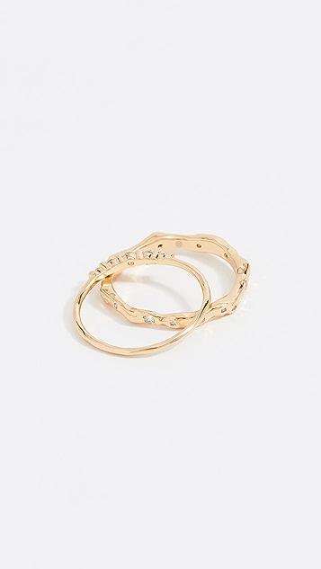 Gorjana Collette Ring Set