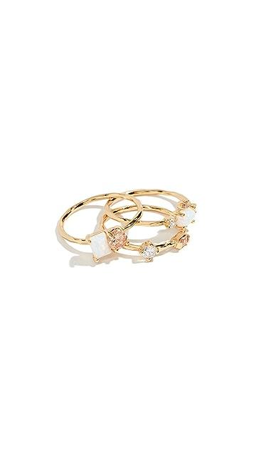 Gorjana Hudson Ring Set