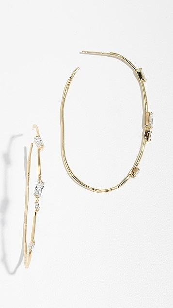 Gorjana Amara Hoop Earrings