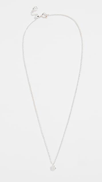 Gorjana Chloe Necklace with Charm