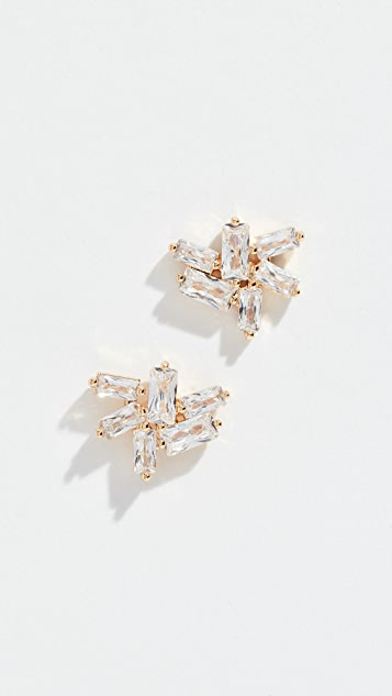 Gorjana Amara Cluster Stud Earrings