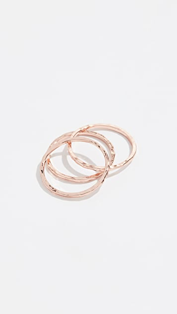 Gorjana G Rings Set of 3