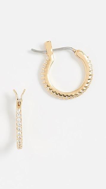 Gorjana Shimmer Huggie Earrings