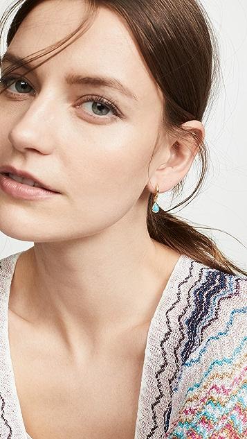 Gorjana Olivia Huggie Earrings