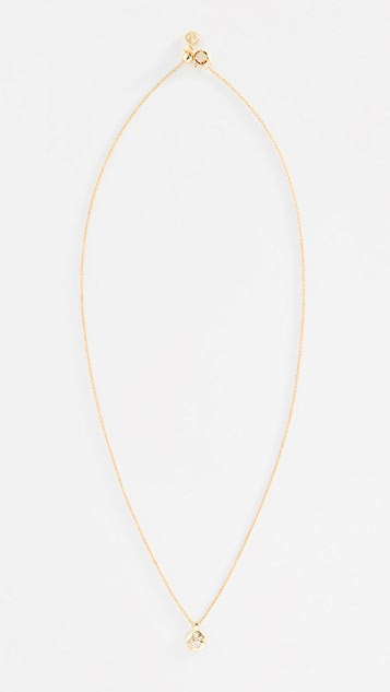 Gorjana Colette Circle Charm Necklace