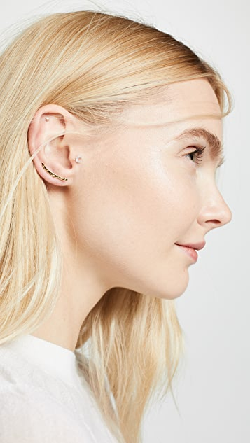 Gorjana Taner Ear Climbers
