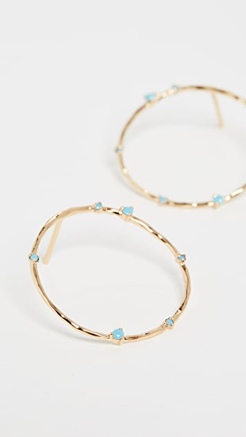 Gorjana Cleo Hoop Earrings
