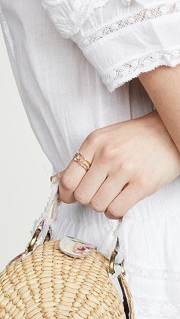 Gorjana Cleo 戒指套装