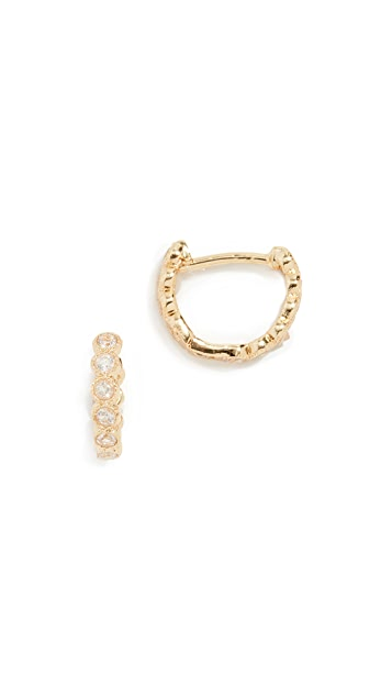 Gorjana Madison Huggie Earrings