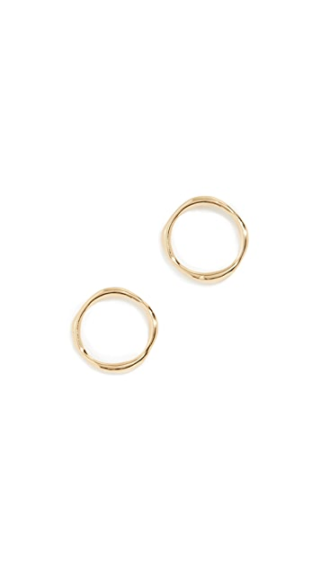 Gorjana Quinn Delicate Stud Earrings