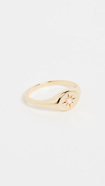 Gorjana 月光图章戒指