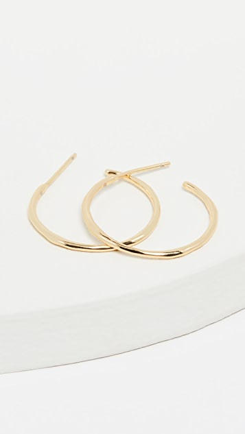 Gorjana Taner Small Hoop Earrings
