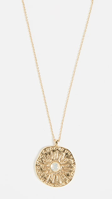 Gorjana Maya Coin Necklace