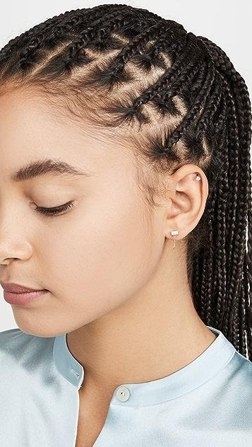 Gorjana Desi 链式贴耳耳环