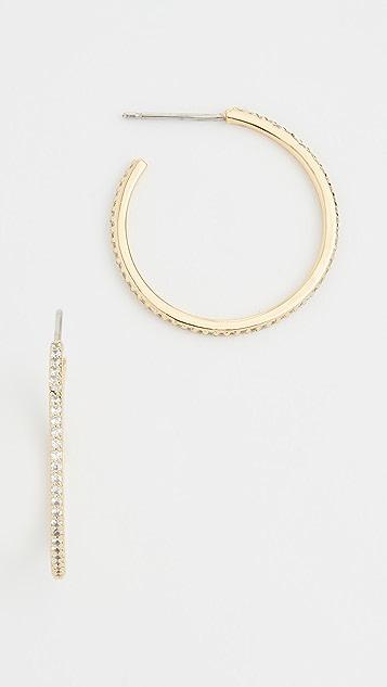 Gorjana Блестящие маленькие серьги-кольца