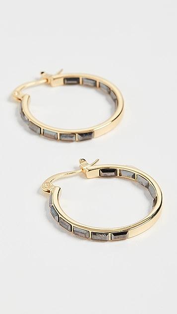 Gorjana Desi 圈式耳环