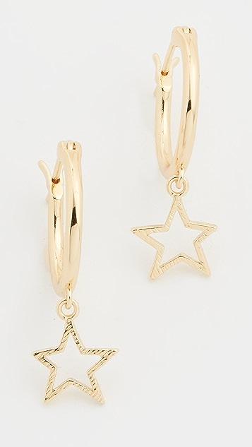 Gorjana Super Star Huggie Earrings