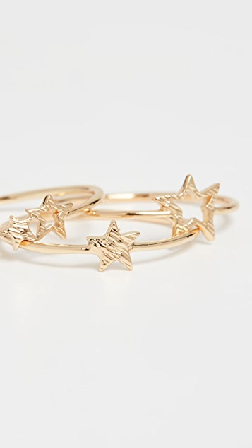 Gorjana Super Star Ring Set