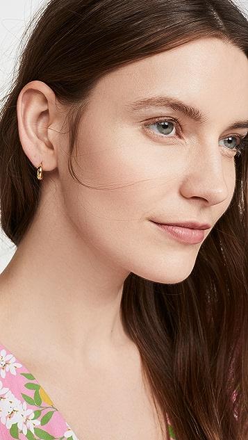 Gorjana Farrah 贴耳耳环