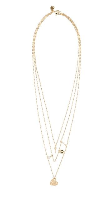 Gorjana Love Charm Necklace