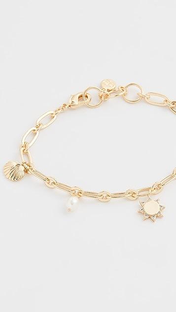 Gorjana Seashell Charm Bracelet