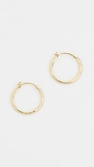 Gorjana Bali 小号圆耳环