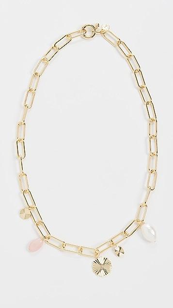 Gorjana Alice Gem Charm Necklace