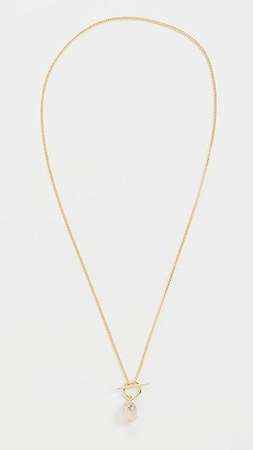 Gorjana Alice Gem Toggle Necklace