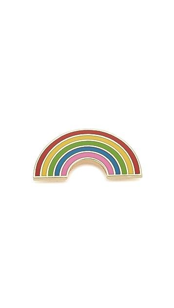 Georgia Perry Rainbow Pin