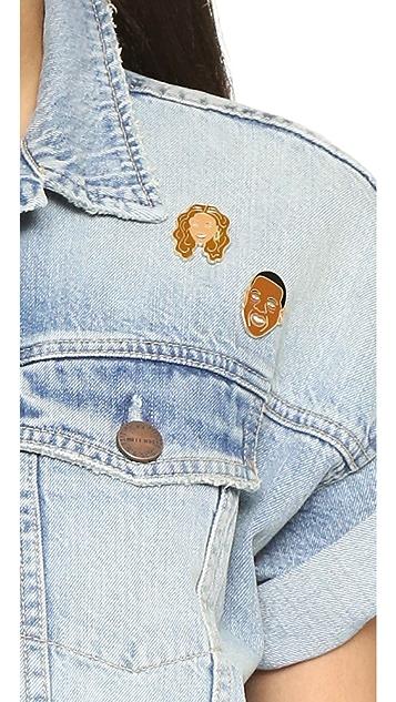 Georgia Perry Jay Z Pin