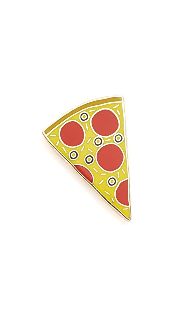 Georgia Perry Tasty Pizza Pin