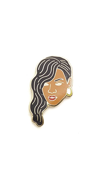 Georgia Perry Rihanna Pin