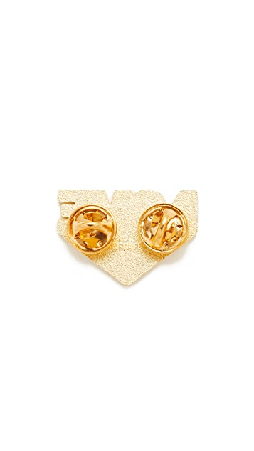 Georgia Perry Love Beams Lapel Pin