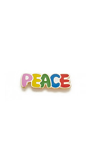 Georgia Perry Peace Lapel Pin