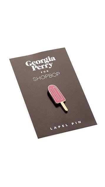 Georgia Perry Popsicle Lapel Pin
