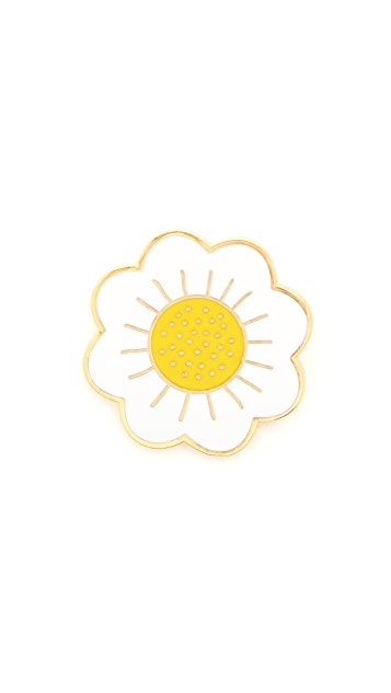 Georgia Perry Daisy Lapel Pin
