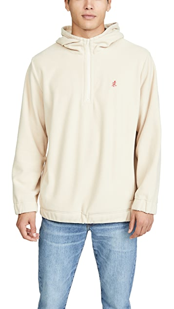 Gramicci Japan Quarter Zip Fleece Hoodie