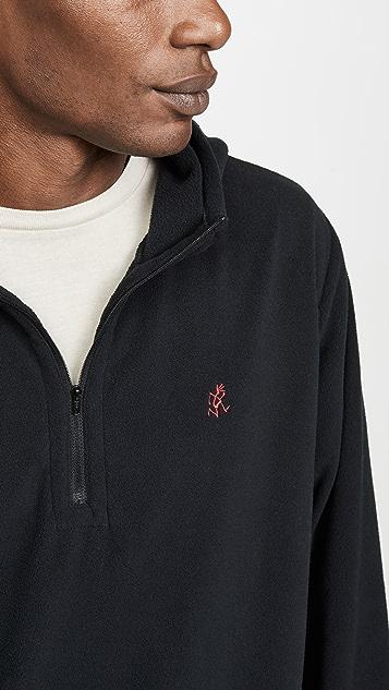 Gramicci Japan Quarter Zip Fleece Hoodie