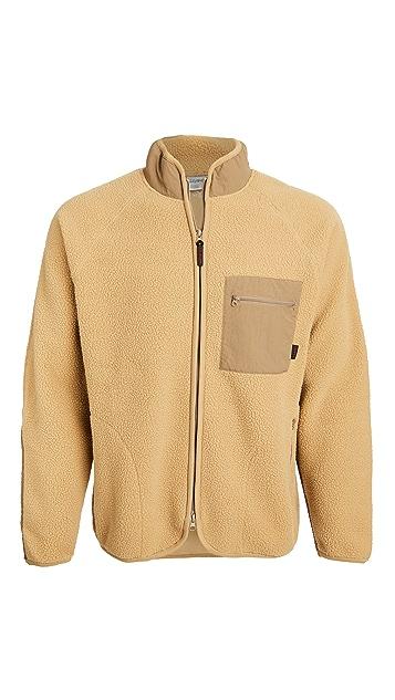 Gramicci Japan Boa Fleece Raglan Sleeve Jacket