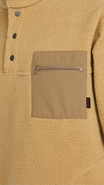 Gramicci Japan Boa Fleece Pullover Sweatshirt