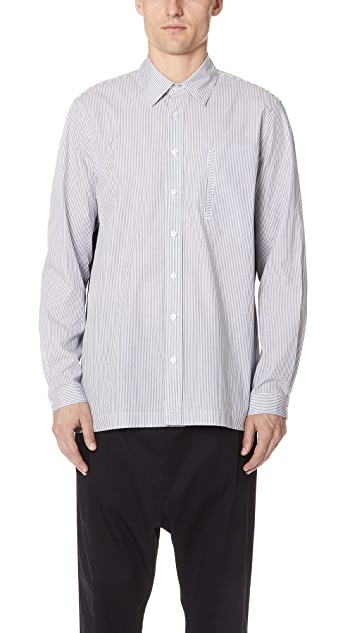 GREI Boxy Button Down Shirt