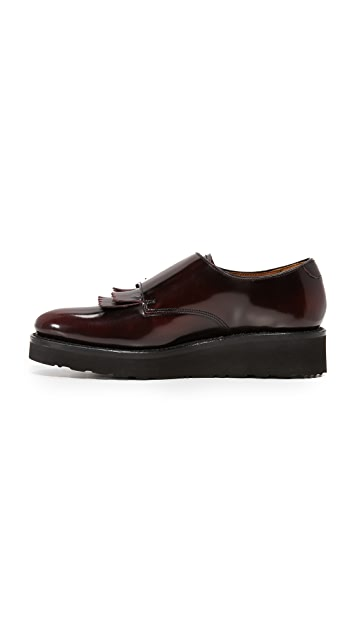 Grenson Audrey Monk Strap Loafers