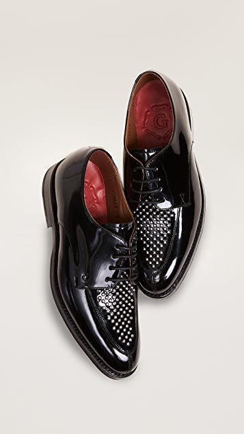 Grenson Lou Studded Oxfords