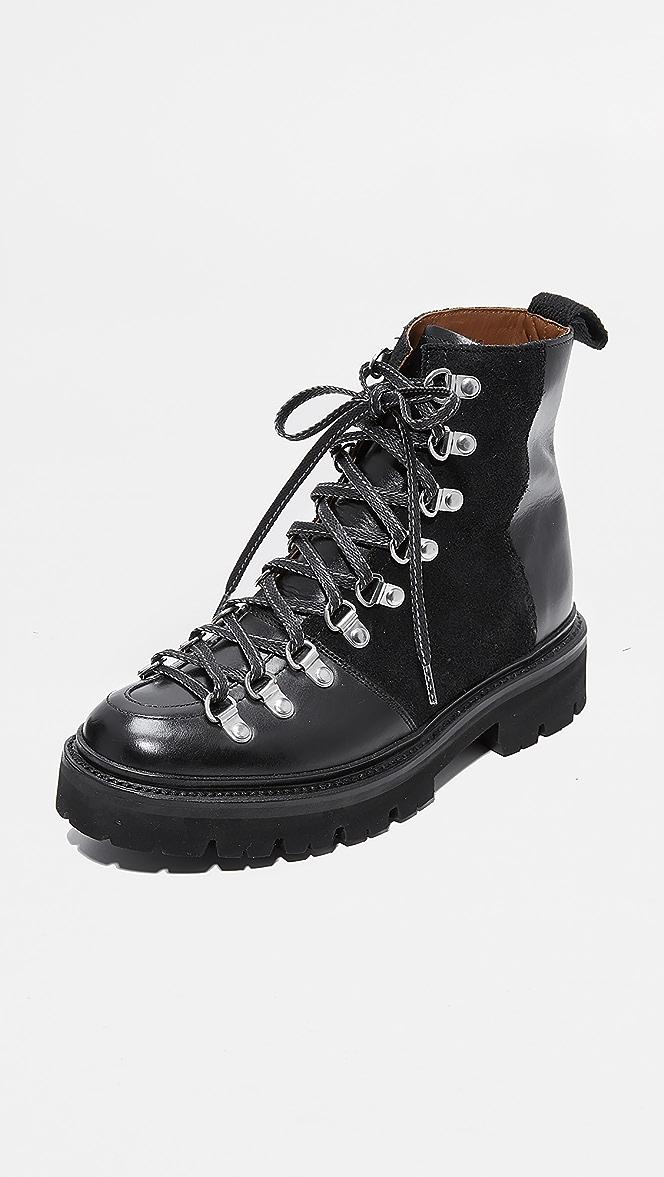 Grenson Nanette Combat Boots | SHOPBOP