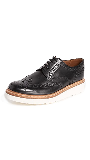 Grenson Archie V Wingtip Creeper Oxfords