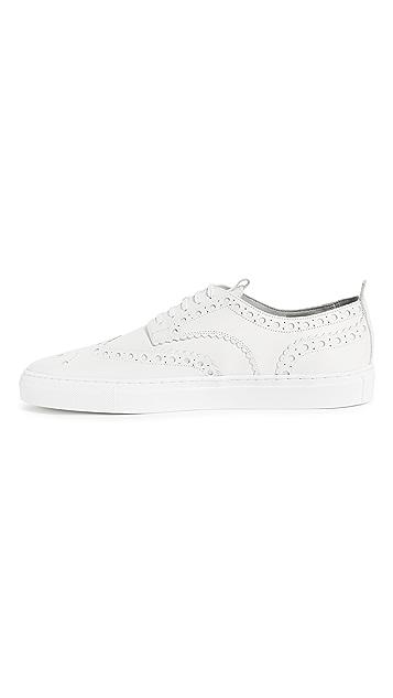 Grenson Low Top Wingtip Sneakers