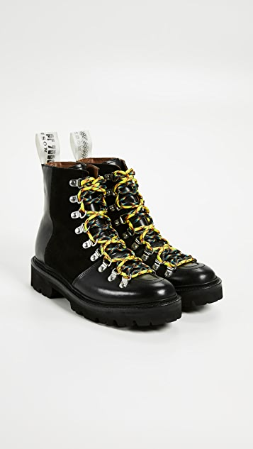 Grenson x House of Holland Vivid Combat Boots