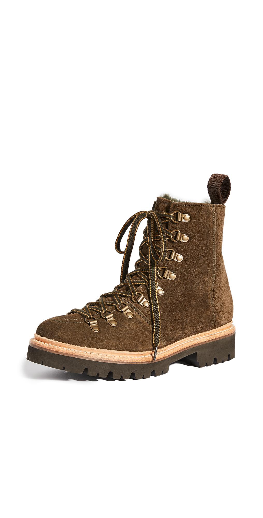 Grenson Nanette Military Ski Boots