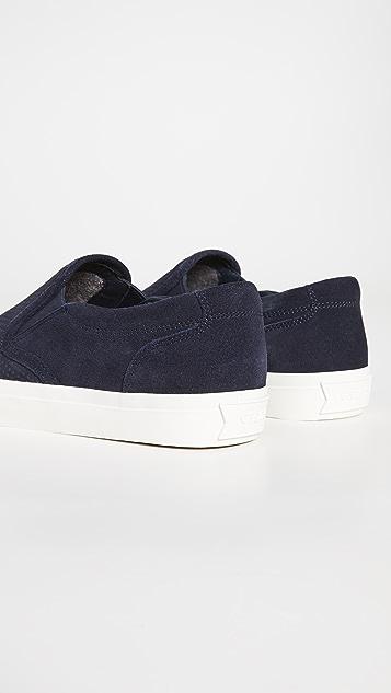GREATS Wooster Suede Sneakers